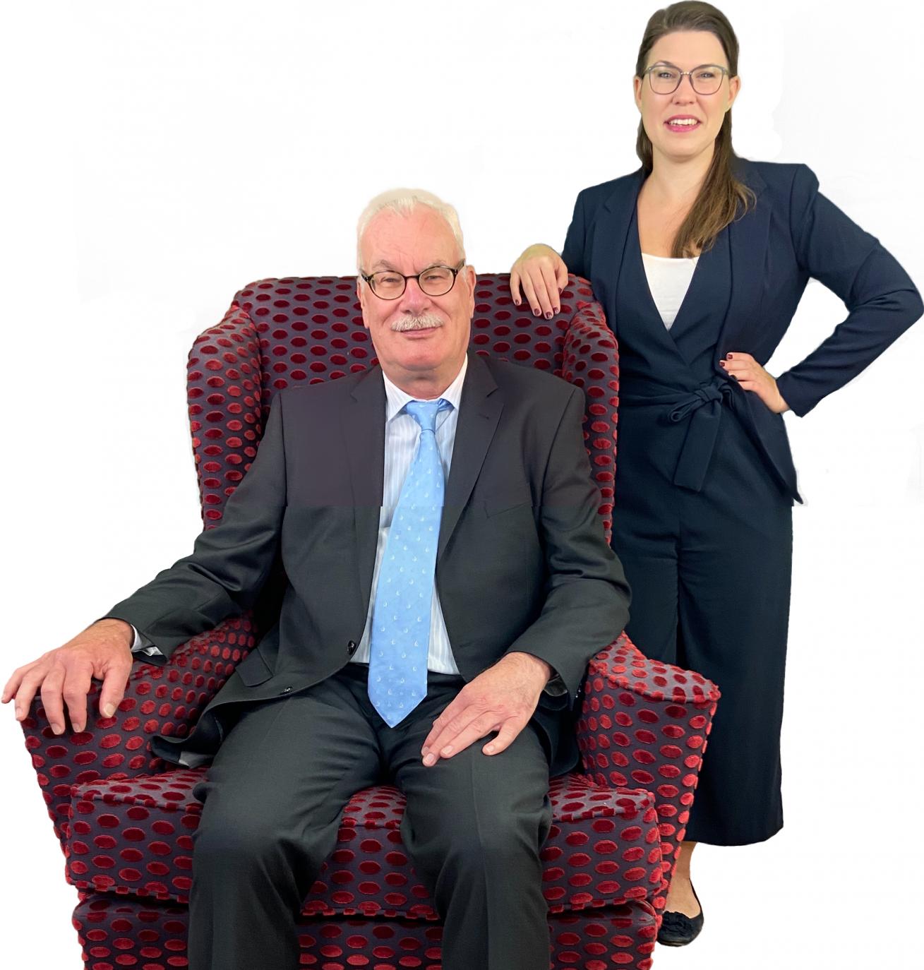 Rechtsanwalt Fanselau und Rechtsanwältin Hellwig
